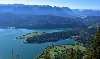 Holidays at Walchensee: surfing, diving and hiking – 4 tips