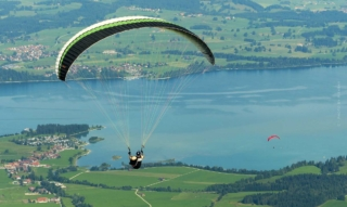 Holidays at the Forggensee: Boat trip, paragliding & thermal bath- 6 tips