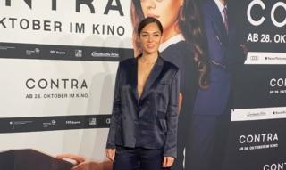 Nilam Farooq red carpet interview @ Contra Kino premiere
